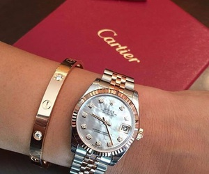 cartier, luxury, and rolex image