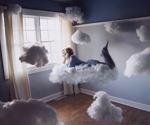 clouds, Dream, and room image
