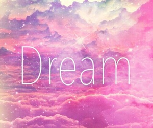Dream, pink, and white image