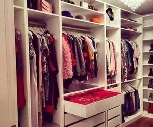 closet, clothes, and girly image
