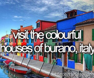 Houses, italy, and bucket list image