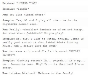 harry potter, harrypotter, and scorpius and rose image