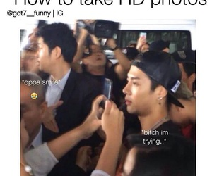 funny, memes, and youngjae image