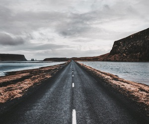 iceland, road, and trip image