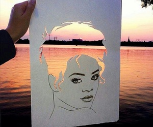 art, rihanna, and beautiful image