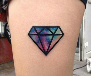 tattoo and diamond image
