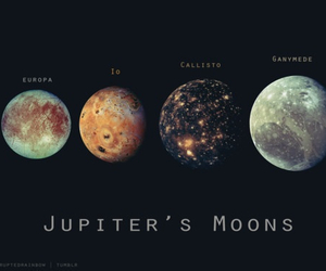 planets, ganymede, and Europa image