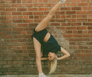 girl and gymnastics image