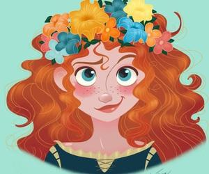 disney, brave, and princess image