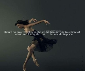 dance, ballet, and music image