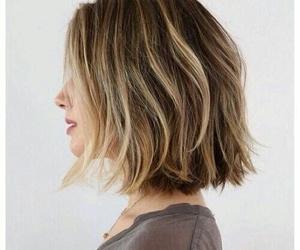 blond, hair, and hair cut image