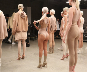 yeezy, kanye west, and model image