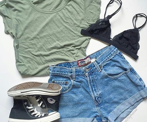 outfit, clothes, and clothing image