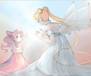 anime, manga, and neo queen serenity image