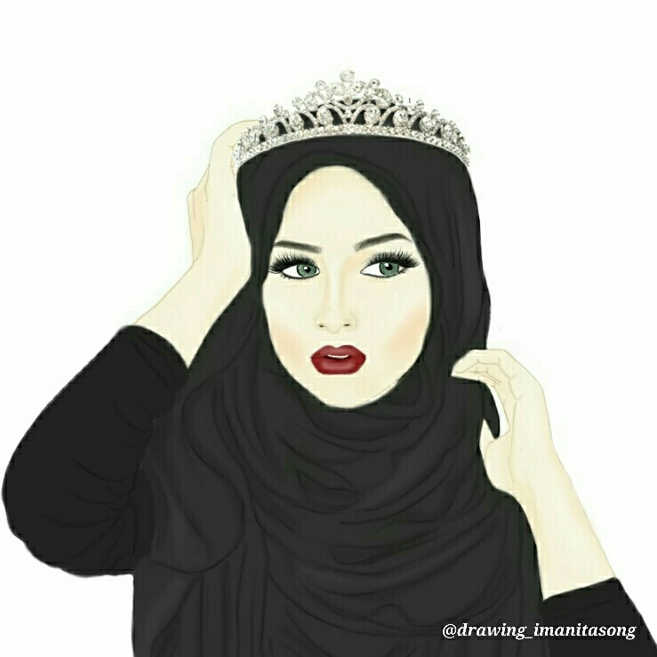 The Muslim Girl she is the most Beautiful and she is a Queen of the  World👑_Célïnä Lùnā