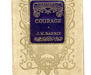 courage, j.m. barrie, and The Unicorn Diaries image