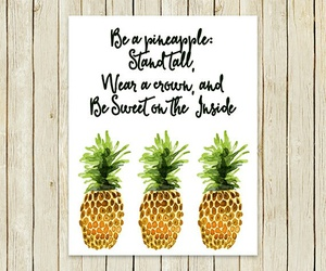 fav, quote, and pineapple image