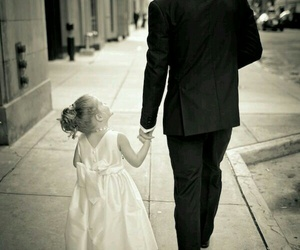 beautiful, Father and Daughter, and man image
