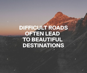 quote, grunge, and roads image
