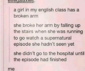supernatural, hospital, and spn image