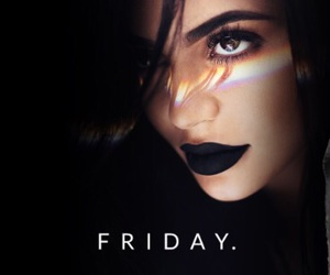 black, black friday, and cosmetic image