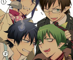 ao no exorcist, blue exorcist, and amaimon image