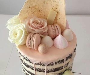 cake, nice, and rose image