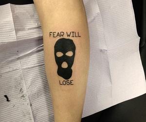 tattoo, twenty one pilots, and fear image