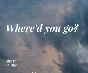 badlands, ghost, and halsey image