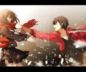 anime, mekakucity actors, and mekaku city actors image