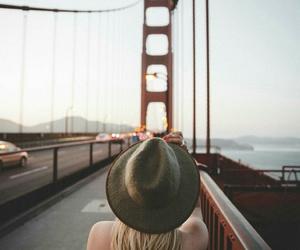 travel, photography, and bridge image