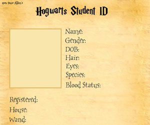 harry potter, hogwarts, and id image