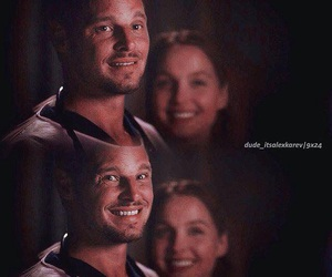 justin chambers, grey's anatomy, and alex karev image