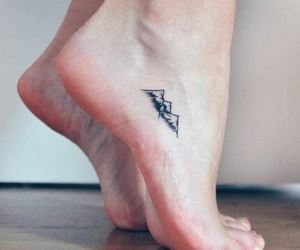 mountain, small, and tatto image