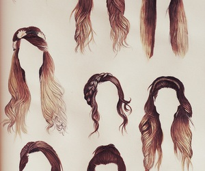 hair, zoella, and hairstyle image