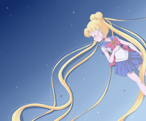 sailor moon and sailor moon crystal image