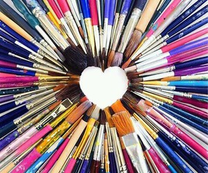heart and Brushes image