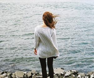 girl, danube, and sea image
