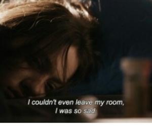 sad, depressed, and quotes image