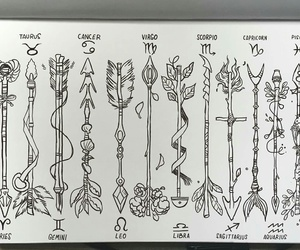 arrow, art, and cancer image