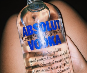 alcohol and absolut image