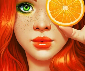 orange and art image