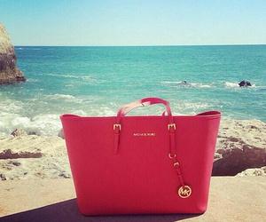 bag, Michael Kors, and beach image