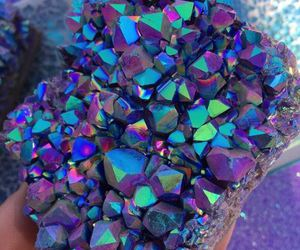 crystal, tumblr, and colours image