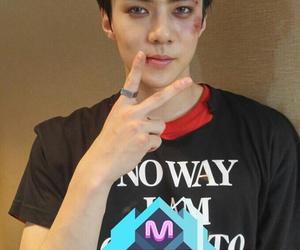 sehun, exo, and monster image
