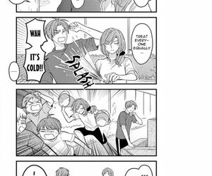 black and white, otp, and manga cap image