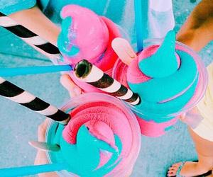 food, summer, and ice cream image