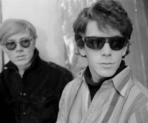 andy warhol and lou reed image