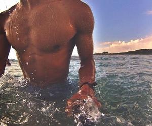 boy, summer, and Hot image