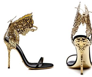 gold, black, and fashion image